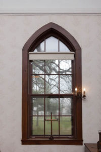 Interior window view